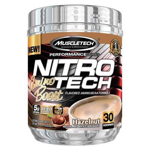 Nitro-Tech Amino Boost Performance Series Hazelnut