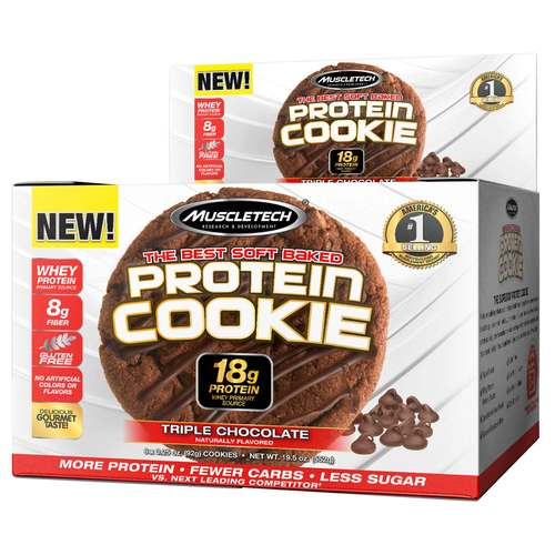 MuscleTech Protein Cookie Triple Chocolate - 6 Pack - 320805_front.jpg