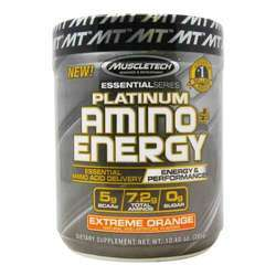 MuscleTech Essential Series Platinum Amino Energy Plus