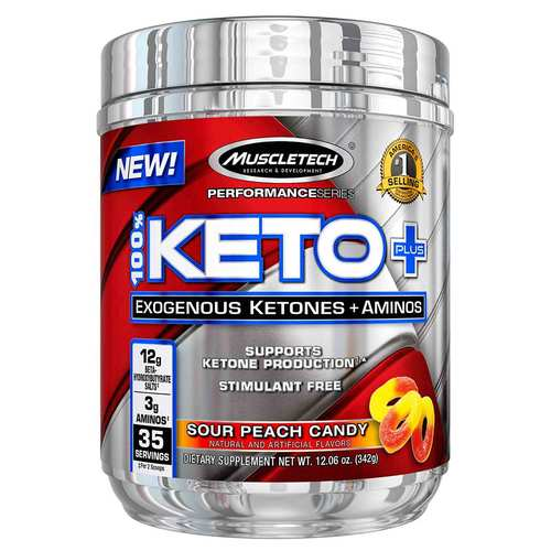 Performance Series 100% Keto Plus Sour Peach Candy