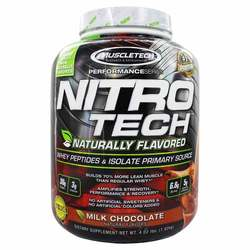 MuscleTech Performance Series Nitro Tech Naturally Flavored Milk Chocolate