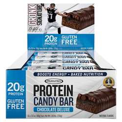 MuscleTech Protein Candy Bar Chocolate Deluxe