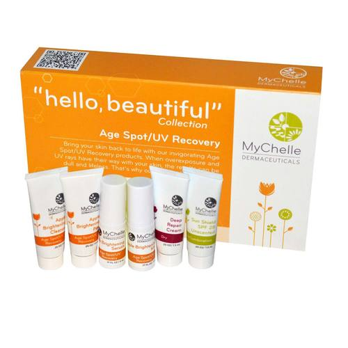 MyChelle Dermaceuticals Hello Beautiful Collection Age SpotUV Recovery - 1 kit