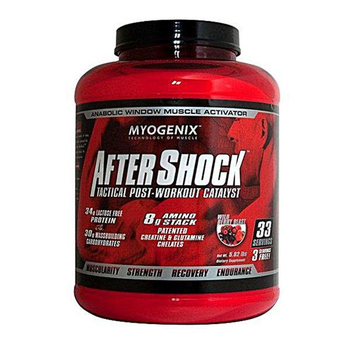 Myogenix AfterShock Wild Berry Blast - 5.82 lbs