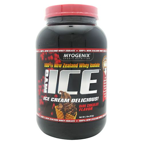 Myogenix MyoIce Chocolate negro - 2 lbs