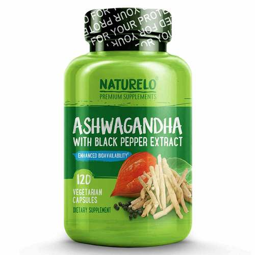 Organic Ashwagandha with Black Pepper Extract