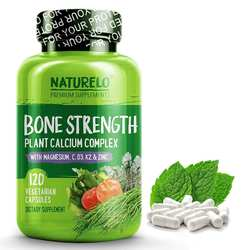 NATURELO Bone Strength Plant Based Calcium Complex