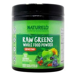 NATURELO Raw Greens powder Unsweetened