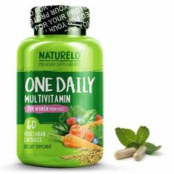 NATURELO One Daily Multivitamin for Women Iron Free