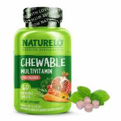 NATURELO Chewable Multivitamin for Children