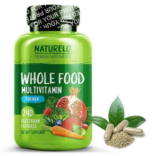 NATURELO Whole Food Multivitamin for Men  - 240 Capsules - 352721_front.jpg