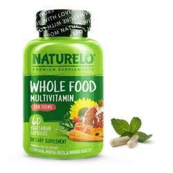 NATURELO Whole Food Multivitamin for Teens