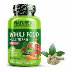 NATURELO Whole Food Multivitamin for Women