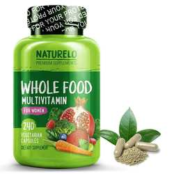 NATURELO Whole Food Multivitamin for Women