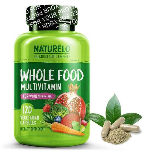Whole Food Multivitamin for Women Iron Free