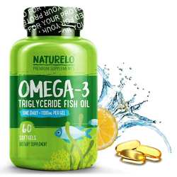 NATURELO Omega-3 Fish Oil One Daily