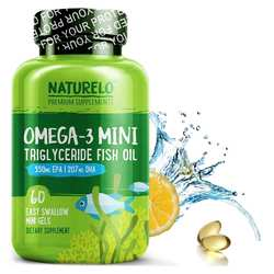 NATURELO Omega-3 Mini Triglyceride Fish Oil
