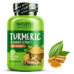 NATURELO Turmeric Ginger Extract