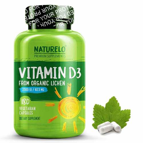 Vitamin D3 from Wild-Harvested Lichen