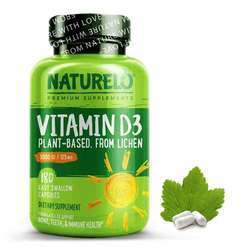 NATURELO Vitamin D3 Lichen