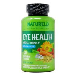 NATURELO Eye Health Areds 2 Formula with Lutein
