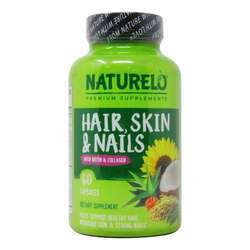 NATURELO Hair Skin  Nails with Biotin  Collagen
