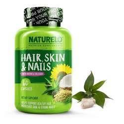 NATURELO Hair Skin  Nails with Biotin  Collagen