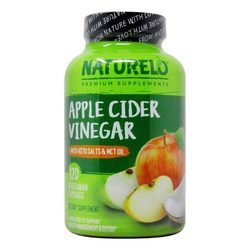 NATURELO Apple Cider Vinegar with Keto Salts