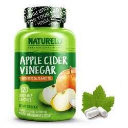 NATURELO Apple Cider Vinegar with Keto Salts