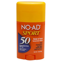 NO-AD Suncare Sport Sunscreen
