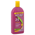 NO-AD Suncare Sunscreen Lotion