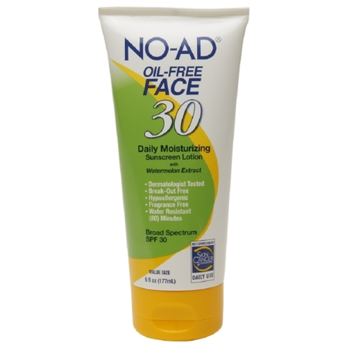Oil-Free Face Daily Moisturizing Sunscreen Lotion