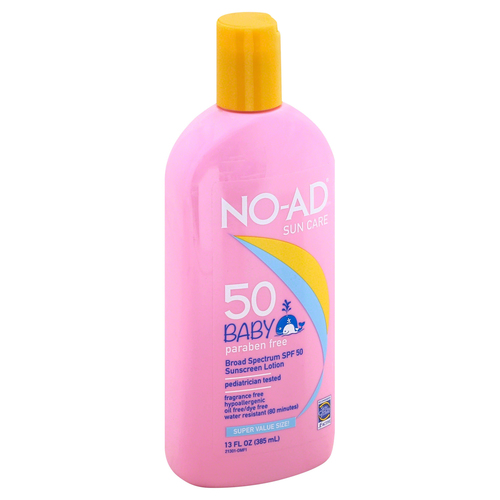 Baby SPF 50 Sunscreen Lotion