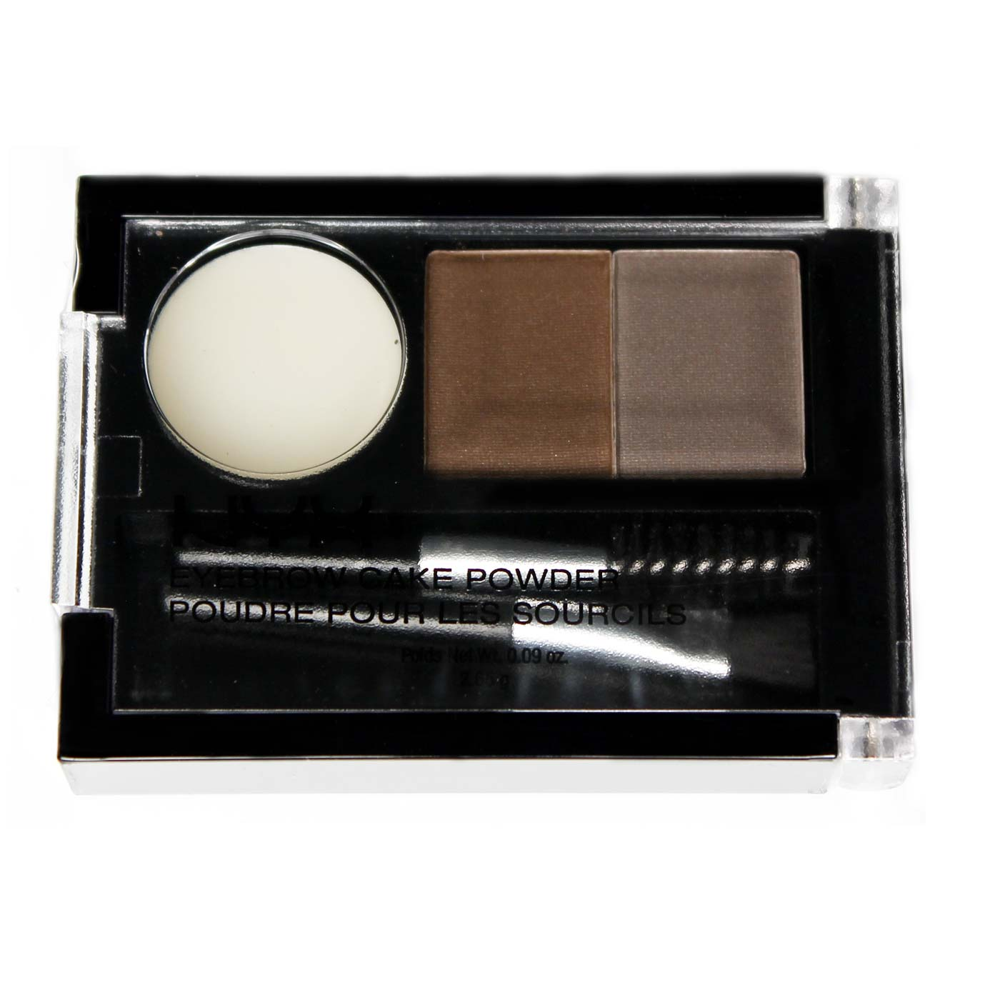 Nyx Eyebrow Powder Taupe Ash 0 09 Oz Evitamins Com