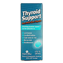 Natra-Bio Thyroid Support Liquid