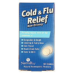 Natra-Bio Cold and Flu Relief