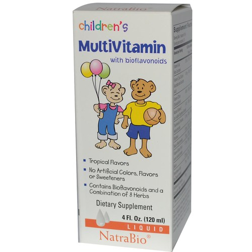 Children's Vitamin C Liquid 40 mg