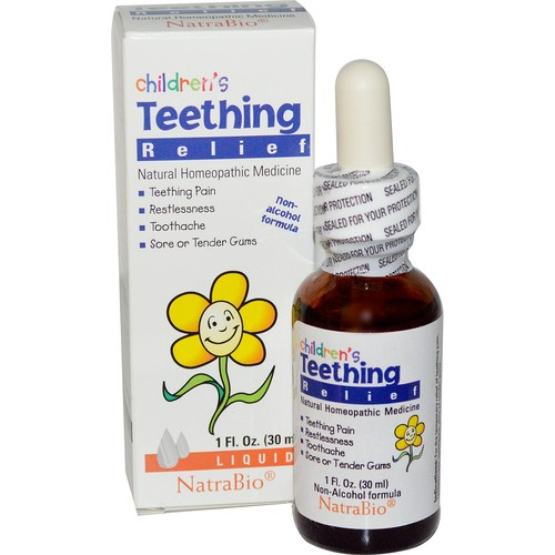 Natra-Bio Children's Teething Relief Unflavored - 1 fl oz - 22697_01.jpg