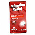Migraine Relief           60 Tablets Yeast Free by Natra-Bio
