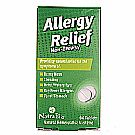 Allergy Relief 60 Tablets Yeast Free by