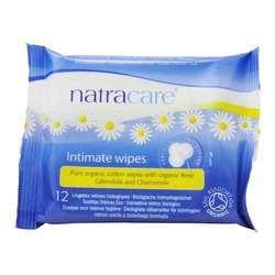 Natracare Organic Cotton Intimate Wipes
