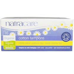 Natracare Organic Cotton Tampons with Applicator