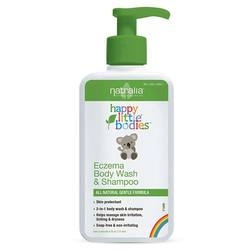 Natralia Kids Eczema Body Wash and Shampoo