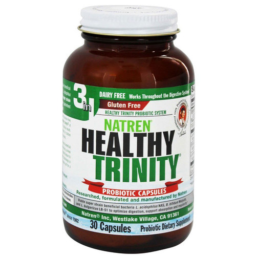 Natren Dairy Free Healthy Trinity  - 30 Capsules - 29304_a.jpg