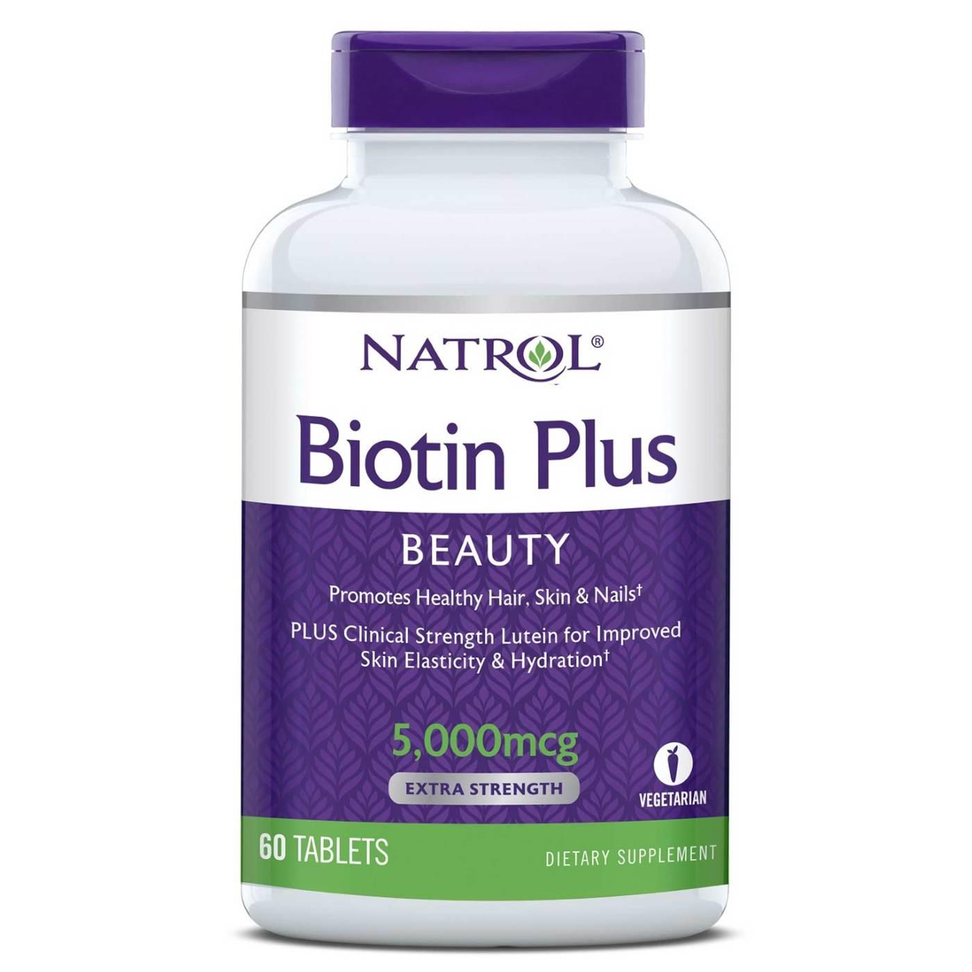 94bc1d9205 Biotina mais Natrol 60 Tabletes - Menor Preço em Brasil