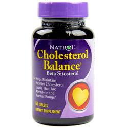 Natrol Cholesterol Balance ( formerly Beta Sitosterol )