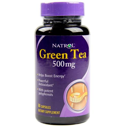 Green Tea Capsules 500 mg