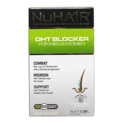 Natrol NuHair DHT Blocker for Men and Women