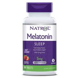 Natrol Melatonin Fast Dissolve 5 mg