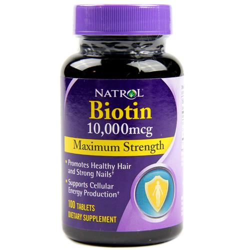 Biotin Maximum Strength 10,000 mcg